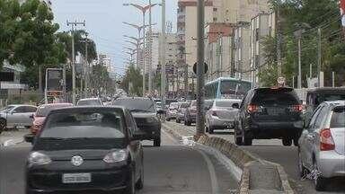 Trecho da Avenida Santos Dumont terá sentido único - Confira mais notícias em g1.globo.com/ce