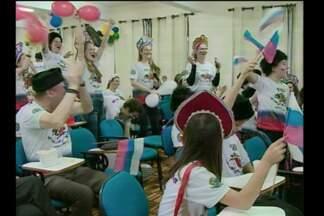 Moradores de Campina das Missões comemoram desempenho da Rússia na Copa - Os descendentes se reuniram no fim de semana para assistir a partida no mundial.