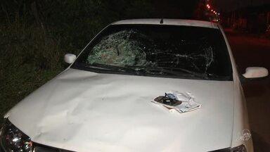 Motorista atropelou seis pessoas e fugiu no bairro Santa Maria - Saiba mais em g1.com.br/ce