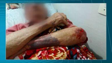 Homem é preso após agredir idoso de 90 anos em Antônio Olinto - O agressor, de 46 anos, foi preso na noite de sábado (07). A agressão foi na quinta-feira (05) e segundo a Polícia Civil, ele queria extorquir R$ 150 do idoso.
