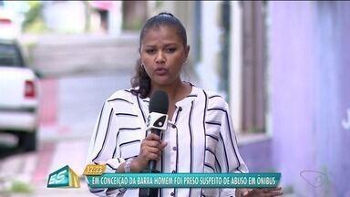 Idoso é acusado de molestar adolescente de 13 anos dentro de um ônibus, no Norte do ES - Caso aconteceu na BR-101, perto de Conceição da Barra.