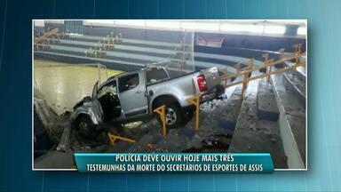 Investigação mostra que Secretário de Esportes de Assis Chateaubriand foi morto por ciúmes - Delegado que cuida do caso diz que motivo passional levou motorista da caminhonete a invadir ginásio e atingir a vítima.