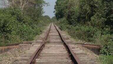 Estrada de ferro deve ajudar a solucionar problemas de logística no Norte do Rio - Assista a seguir.