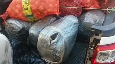 Dois homens são presos com mais de 100 kg de maconha - Confira mais notícias em g1.com.br/ce