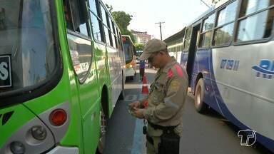 Fiscalização constata irregularidades em 23 veículos de transporte coletivo em Santarém - Irregularidades foram verificadas no período de uma semana, durante a Operação Verão.