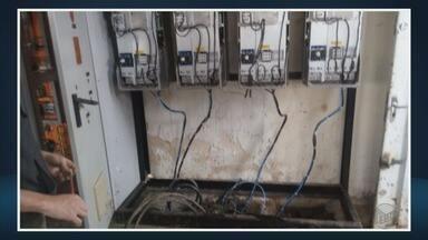 Equipamentos são furtados de estação de tratamento de água em Poços de Caldas (MG) - Equipamentos são furtados de estação de tratamento de água em Poços de Caldas (MG)