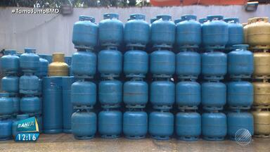Revendedores estão preocupados com possível crise no abastecimento de gás de cozinha - Eles dizem que a quantidade do produto que chega s distribuidoras não é suficiente para atender ao mercado baiano.