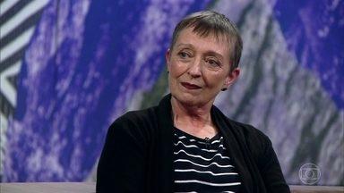Frida afirma que as pessoas têm medo de falar sobre a morte - Ana Claudia fala sobre livro, que foi tema de prova do Enem