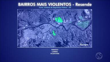 RJTV faz balanço da criminalidade em Resende, RJ - Mudança de hábitos já pode ser notada na região por conta do avanço da violência.