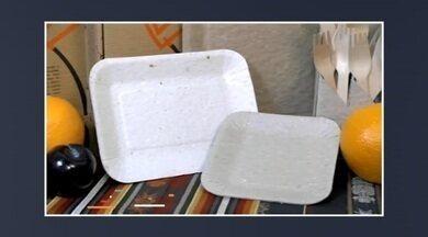Startup colombiana cria pratos biodegradáveis e germináveis - É uma alternativa ainda mais sustentável no uso de descartáveis. O prato é feito com fibras de resíduos agrícolas, como a palha de milho e não contém nenhum tipo de derivados do petróleo.