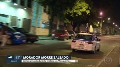 Morador de Manguinhos morre baleado durante confronto entre policiais e bandidos - No tiroteio, um policial e outro morador ficaram feridos