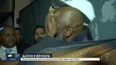 Motorista preso por erro da polícia é solto depois de nove dias - Antônio Carlos Rodrigues foi preso porque a delegada achou que ele era parecido com um bandido. Detalhe: o verdadeiro criminoso já estava até preso.