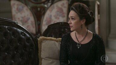 Julieta defende a atitude de Ema - Aurélio não se conforma com a fuga de Ernesto e Ema