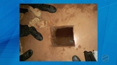 Túnel é descoberto dentro da Cadeia Pública de Sorriso - Túnel é descoberto dentro da Cadeia Pública de Sorriso.