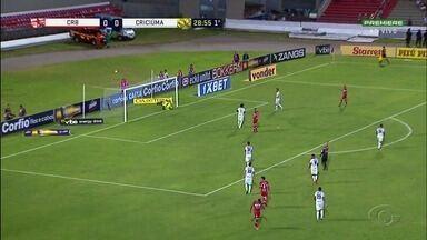 CRB intensifica treino para jogo contra o Londrina pela Série B, em Maceió - Partida será no próximo sábado.