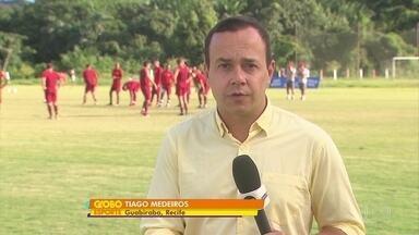 Náutico recebe Globo-RN e Gilmar quer muito vaga de titular na partida - Náutico recebe Globo-RN e Gilmar quer muito vaga de titular na partida