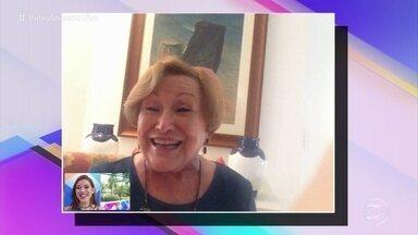 Nicette Bruno fala sobre a relação com os netos - Atriz comemora o dia dos avós neste 26 de julho