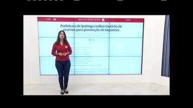 Confira o que é destaque no G1 Vales de Minas - Zana Ferreira mostra as principais notícias do portal nesta quinta-feira.