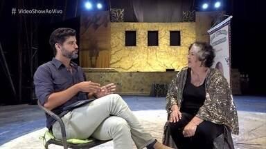 Bruno Cabrerizo mostra o talento da avó Mercedes - Mercedes Chulvis estreou no circo aos três anos de idade e conta que desde criança decidiu ser atriz