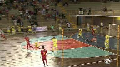 Asec fica no empate com o Horizonte-CE e se despede da Copa do Brasil de Futsal - Gol do time caruaruense foi marcado por Wanderson. Na jogo da ida, o Horizonte venceu por 3 a 2 e brigava pela empate.