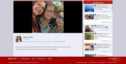 Tô na Rede: dia de Santa Ana, dia dos Avós no Amapá - Internautas registram momentos familiares pelo aplicativo da Rede Amazônica