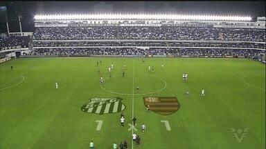 Santos e Flamengo ficam no empate em 1 a 1, pelo Brasileiro - Mesmo com show de Rodrygo, Peixe não conseguiu virar na Vila Belmiro