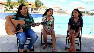 """JPB2JP: Conheça o trio """"Mistura de Meninas"""" da cidade de Patos - Duas irmãs e uma prima se uniram para fazer shows."""