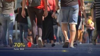 Desemprego cresce entre mulheres, aponta o IBGE - Uma pesquisa realizada pelo IBGE mostrou que nos últimos quatro anos, o número de mulheres desempregadas cresceu 70%. Elas estão buscando qualificação, mas mesmo assim enfrentam muitos desafios no mercado de trabalho.