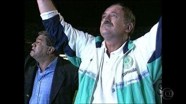 Felipão é o novo técnico do Palmeiras - Felipão é o novo técnico do Palmeiras