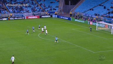 Grêmio vence o São Paulo por 2 a 1 e assume a 4ª posição na tabela do Brasileirão - O São Paulo abriu o placar, mas o tricolor conseguiu virar a partida.