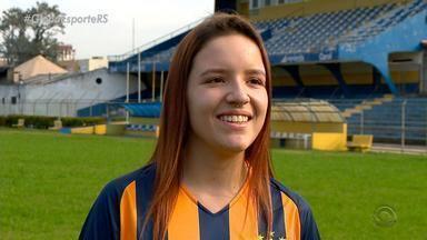 Jogadora do Pelotas Phoenix é contratada por time dos Estados Unidos - Assista ao vídeo.