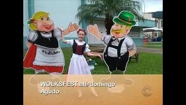 Município de Agudo recebe a Volksfest até domingo, 29/07 - O convite é da Lívia Roos de Agudo.