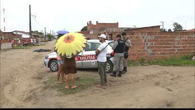 Homem é morto quando saía para o trabalho na Paraíba - O crime foi em Santa Rita.