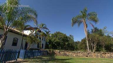 Fazenda de mais de 300 anos faz parte da história da Inconfidência Mineira - Lugar foi totalmente recuperado.