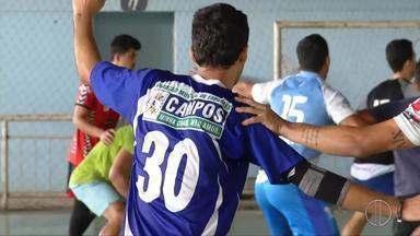 Equipe de handebol de Campos, RJ, encara final do Campeonato Carioca neste domingo - Assista a seguir.