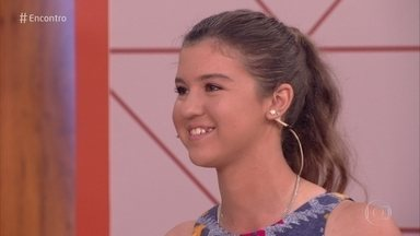 Luiza é recordista mirim de tiro com arco - Atleta tem apenas 15 anos e mostra sua habilidade na modalidade