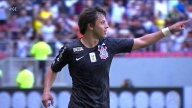 Vasco é goleado pelo Corinthians no Brasileirão - Vasco é goleado pelo Corinthians no Brasileirão