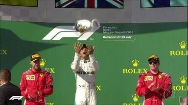 Lewis Hamilton vence o GP da Hungria de F1 - Lewis Hamilton vence o GP da Hungria de F1