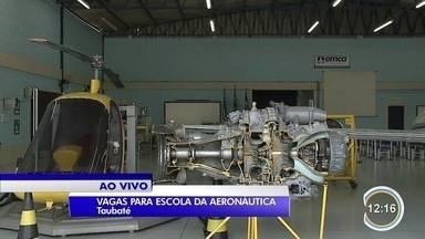 Escola Aeronáutica de Taubaté está com inscrições abertas para 81 vagas - Inscrições vão até o dia 31 de agosto. Vagas sãem 3 tipos de especialização e duram 2 anos.