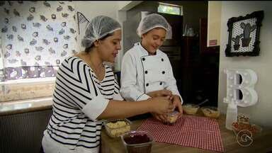 Família aposta no empreendedorismo - Eles começaram a vender bolo e brigadeiro com a intenção de levar a filha pra Disney.