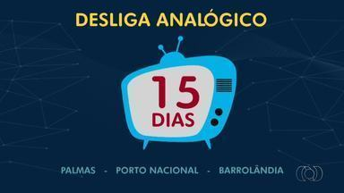 Faltam 15 dias para desligamento do sinal analógico - Faltam 15 dias para desligamento do sinal analógico