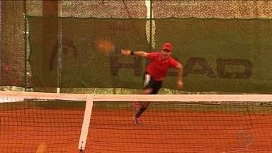 Caju Open reúne tenistas sergipanos e de outros estados - Evento vai até semana que vem.