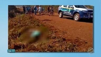 Homem é encontrado morto com mãos e pés amarrados em Dourados - Cadáver foi encontrado no início da manhã de domingo (29).