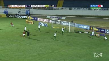 Sampaio perde para o Boa e segue na zona de rebaixamento da Série B - Tricolor completa oito jogos sem vencer na competição