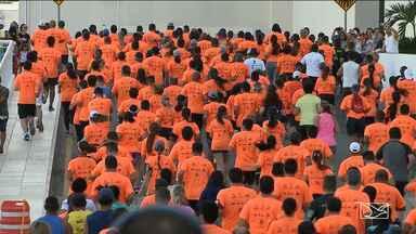 Corrida São Luís é realizada na Avenida Litorânea - Competição contou com a presença de mais de mil atletas na orla de São Luís