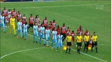 CRB empata com Londrina no Rei Pelé - Jogo terminou um a um.