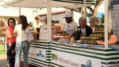 Feira de produtoras rurais acontece em Arapiraca - Evento oferece produtos sem agrotóxico.