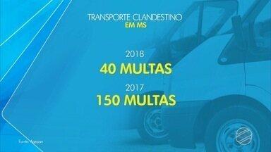 Motoristas transportam irregularmente passageiros entre Campo Grande e Ribas - Reportagem flagrou viagens diárias entre as duas cidades.