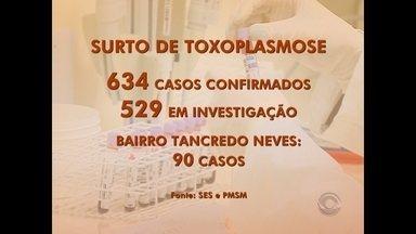 Sobe para 634 o número de casos confirmados no surto de toxoplasmose em Santa Maria - O novo boletim foi divulgado pela Prefeitura Municipal e pela Secretaria Estadual de Saúde.