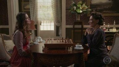 Elisabeta acusa Lady Margareth de ser a responsável pela explosão - A jovem Benedito surpreende a inglesa com um xeque-mate e afirma que conseguirá provar que Lady está por trâs de tudo o que está acontecendo com ela